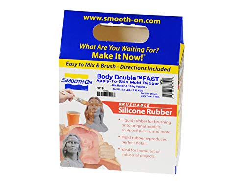Body Double Fast Set Life Casting Platinum Silicone - Trial Unit