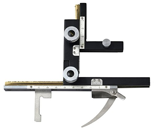 OMAX Attachable Large X-Y Mechanical Stage for Compound Microscopes