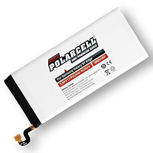 Polarcell Batería para Samsung Galaxy S7 Edge Sm-G935F/Eb-Bg935Abe (3800 mAh/14,63 WH)