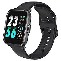 【Cardiofrequenzimetro Intelligente】Lo smartwatch può fornire un monitoraggio continuo 24/7 del battito cardiaco, un servizio di guida della frequenza cardiaca e un rilevamento dell'ossigeno nel sangue, che consentono di ottimizzare il programma di al...