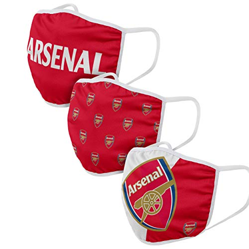 Forever Collectibles UK ARSENAL FC FACE COVERINGS WH