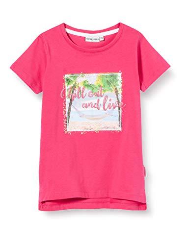Salt & Pepper Mädchen 03112280 T-Shirt, Rosa (Magenta 874), (Herstellergröße: 92/98)