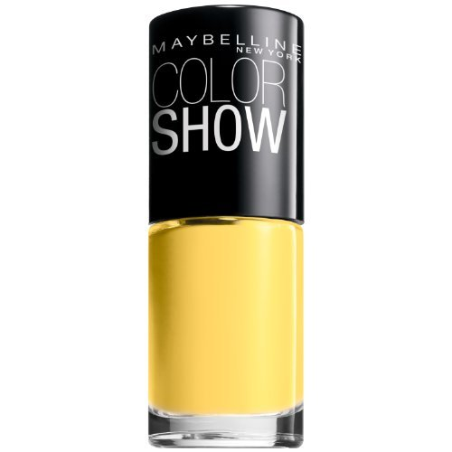Maybelline New York Color Show Nail Lacquer, Fierce 'N Tangy, 0.23 Fluid Ounce (Pack of 2)