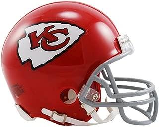 New Riddell Kansas City Chiefs 63-73 Throwback VSR4 Mini Football Helmet