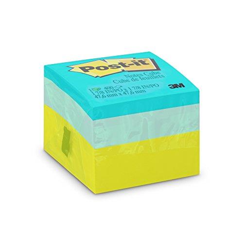 Bloco de Notas Adesivas Post-it Cubo Verde - 400 folhas