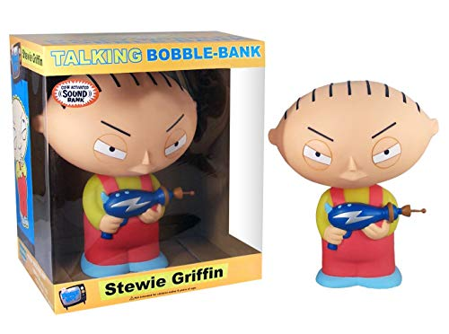 Wacky Wobbler Stewie Family Guy Hucha PVC APPR 30cm con Sonido de Funko