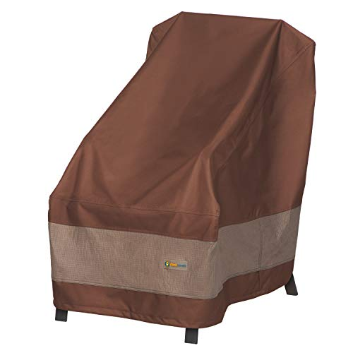 Duck Covers Ultimate Waterproof 26 Inch High Back Patio Chair Cover