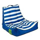 Captain's Float with Pocket Cabana Stripe True Blue