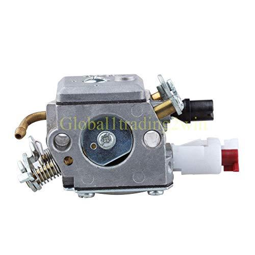MTHW Piezas de repuesto útiles para Huq Carburador Carb para Husqvarna Sierra de cadena 350 351 353 340 345 Motosierra 1 Gas Line profesional