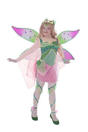 Ciao 11190.4-6 Flora Bloomix Winx - Disfraz de club, 4-6 años