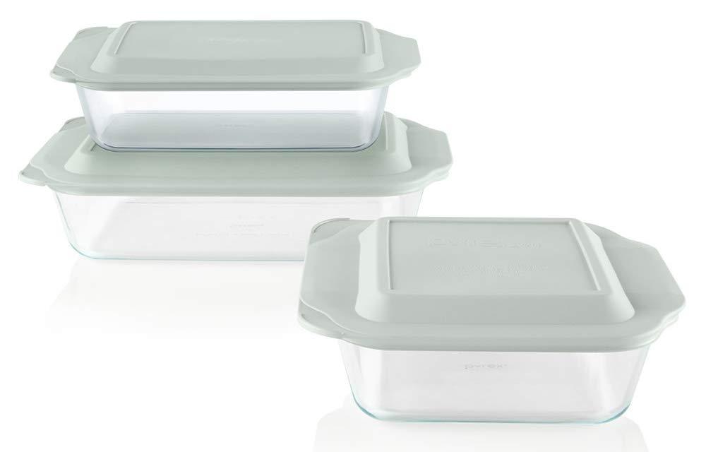 Pyrex Deep Baking 6 piece BPA free