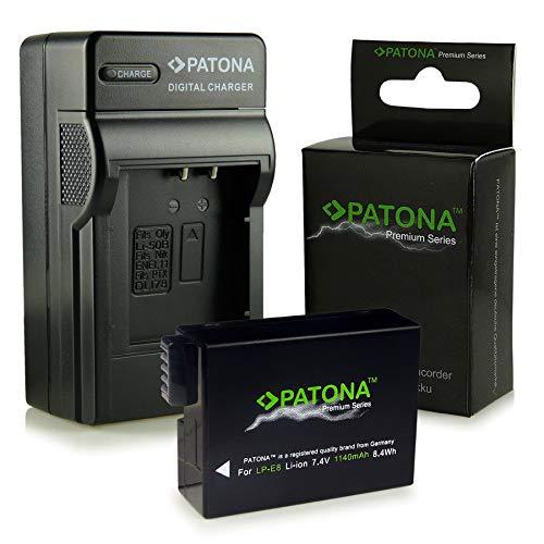 Cargador + Premium Batería LP-E8 para Canon EOS 550D   600D  ...