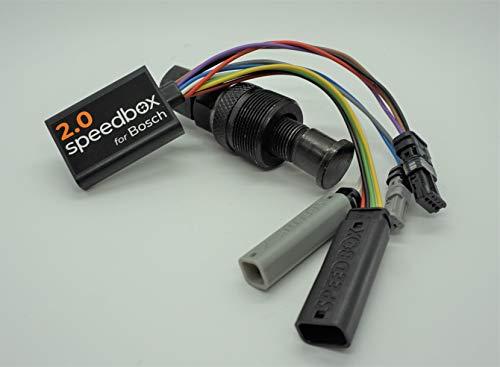 Speedbox E-Bike 2 Bosch Pedelec Motoren mit tatsächlicher Geschwindigkeitsanzeige inkl. Kurbelabzieher