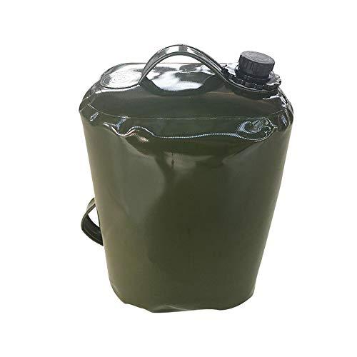 Funihut Brandstofjerrycan, 30 l, opvouwbare waterzak, van TPU, kan diesel voor de boot van auto en vliegtuig, zak voor benzinemotor (50 x 30 x 20 cm)