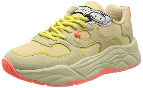 SCOTCH & SODA FOOTWEAR Damen Celest Sneaker, Light beige, 36 EU