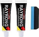 2pcs Car Scratch Repair Paste Remover Repair Paint Body Compound Paste Clear Kit Paint Scratch...