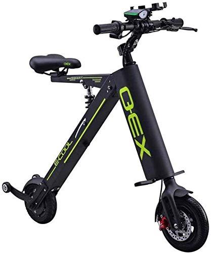 RDJM Bici electrica Bicicletas rápidas y Eléctrica en Adultos Plegable Bicicleta eléctrica...