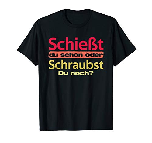 Bogenschütze Bogenschießen Sportbogen Geschenk Spruch T-Shirt