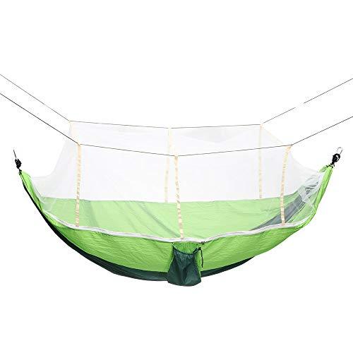 Viitech - Hamaca portátil de doble viaje con red de mosquitos y mosquitos, kit de supervivencia para excursiones al aire libre