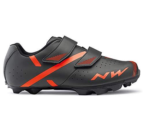 Northwave Spike 2 MTB Fahrrad Schuhe grau/orange 2020: Größe: 44