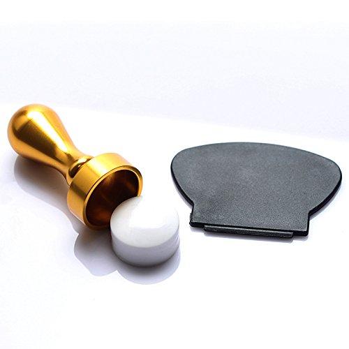 Pure Vie Silicone Stamper Pour tampons a ongles transparents - Livré avec grattoir #6