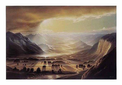 Kunstdruck/Poster: Hans-Werner SAHM Weitblick - hochwertiger Druck, Bild, Kunstposter, 50x40 cm