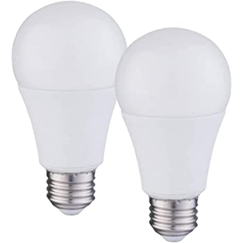 LED Light Bulbs YAMAO A19 100W Equivalent Light Bulb 1600LM 2700K Soft White Dimmable 14-Watt UL Listed / Energy Star Certified (2 Pack)