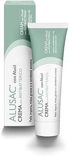 ALUSAC - Crema Viso Idratante per Pelle Grassa, Impura e Acneica, Dona un'Opacità Naturale, Senza Ungere la Pelle, 30 ml