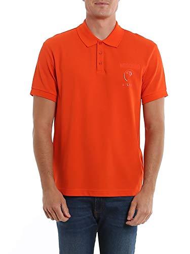 Moschino Luxury Fashion Herren A120220420126 Rot Baumwolle Poloshirt   Frühling Sommer 20