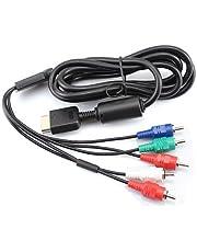 Childhood Componente de TV de alta definición Componente Cable de audio AV Video Cable para PS2 PS3 Playstation