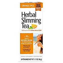 powerful 21st Century Slimming Tea, Orange Spice, 1.6 oz, 24 Pack
