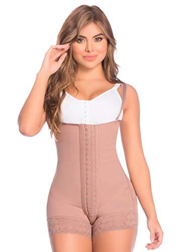 DPrada 11106 Backless Body Shaper - Fajas Colombianas Bridal Shapewear (Cocoa, X-Small)