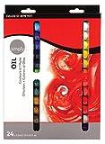 Set de Pintura al Óleo DALER ROWNEY Simply, con 24 Tubos de Colores Surtidos (24 x 12 ml)