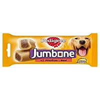 Makes the perfect mouth-watering treat for your dog fortified with vitamins, minerals and Omega 3. Made with a delicious chewy outer bone and scrumptious meaty centre. Gives your dog the variety of two treats in one. Long lasting dog chew for medium ...