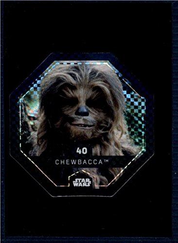 2017 Winn Dixie Star Wars Cosmic Shells Foil #40 Chewbacca