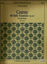Czerny Op. 337 Forty Daily Exercises for The Piano Buonamico
