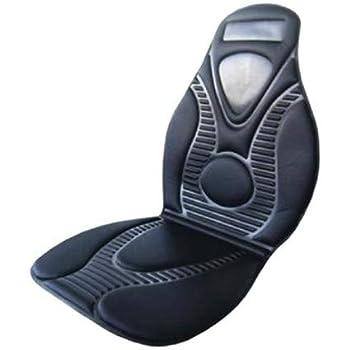 Switory Massagesitzauflage R/ücken mit Auto Sitzheizung DC 12V Beheizter Autositzbezug mit with Intelligent Temperature Controller Winter Universial Autositz W/ärmer f/ür PKW SUV MPV Front Chair