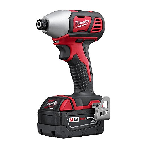 Milwaukee 2691-24G 18-Volt Cordless Combo Tool Kit (4-Tool) with Two 3.0 Ah Batteries, 1-Charger, 1-Tool Bag