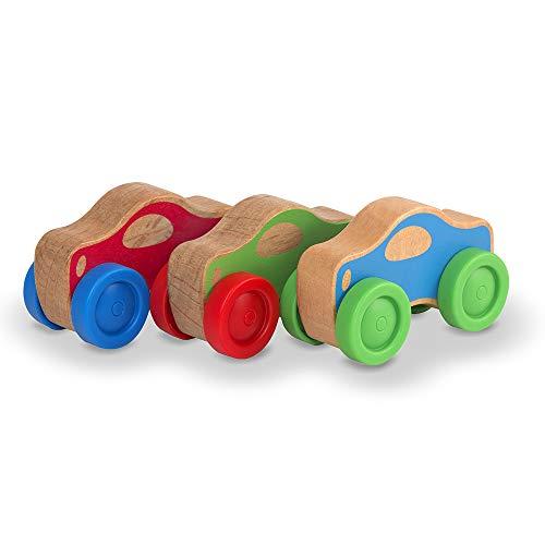 Melissa & Doug Stacking Cars Wooden Baby Toy | Amazon