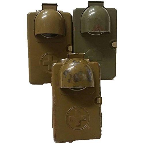 Swiss Army Schweizer Armee Original Taschenlampe mit Klappe oliv Rarität