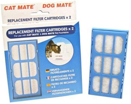 Cat Mate List price Replacement Filter Cartridge Fountain for 2 store - Pack