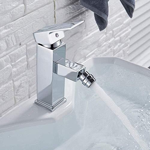 YZDD Grifo Hogar Lavabo de baño multicolor Grifo de latón Grifos de agua fría y caliente Verde Naranja Blanco Mezclador de baño Caliente y frío