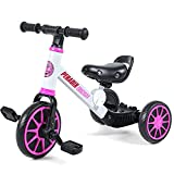 Best Tricycles - Peradix 3 in 1 Kids Tricycle & Trikes Review