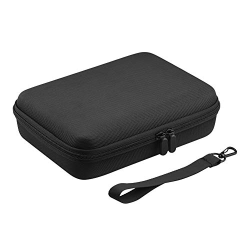 HaHawaii Storage Bag, Portable Sport Camera Shockproof Storage Bag Carrying Case for Insta360 ONE R - Black