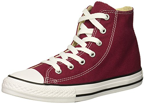 Converse Girl's Chuck Taylor All Star 2018 Seasonal High Top Sneaker, Maroon, 3 M US Little Kid