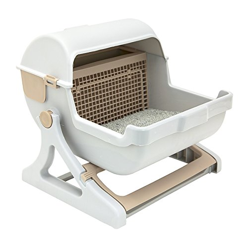 Le You Pet Semi-Automatic Cleaning Litter Box