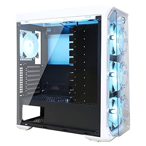 WSNBB Caja De La PC, Caja De Disco Duro Múltiple del Servidor De Escritorio De La Placa Base ATX De 14 Discos Duros, Especificaciones De La Placa Base De Soporte ATX/M-ATX/ITX (Size : Without Fan)