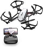 Potensic Drone avec caméra WiFi FPV Drone avec Caméra HD, D20 Fonction de Maintien de l'altitude, de capteur de gravité, Cadeau de Noël.