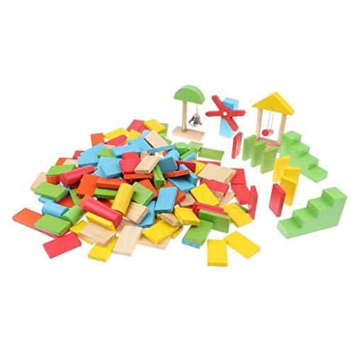 CENPEN Circuito de tablero 150 piezas Dominó tradicional juego de mesa clásico para niños divertido juego