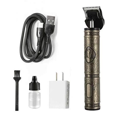 Tondeuse électrique Pro Li Liner à tête chauve - Tondeuse à cheveux électrique tout-en-un pour homme, Vert militaire
